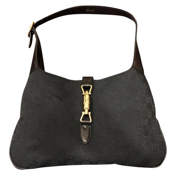 24fbefd5717 Gucci Handbags - Gucci Jackie O Supreme Canvas Purse